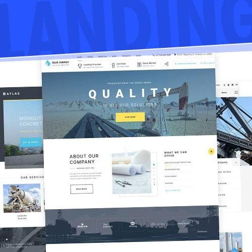 Página Web Landing Page
