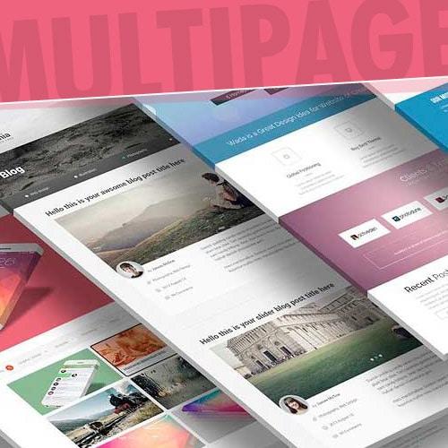 Página Web Multipage